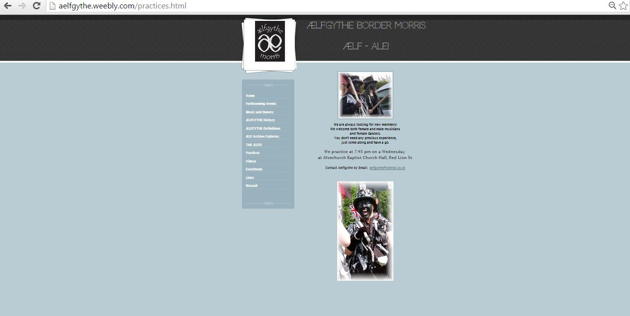 New website layout New website create free online
